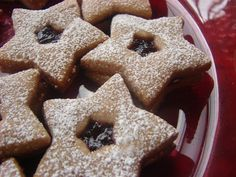 Linzer Cookies with Milk Chocolate- the World's Christmas Cookie and One of the Most Popular Cookies on the Planet - http://www.mytaste.com/r/linzer-cookies-with-milk-chocolate--the-worlds-christmas-cookie-and-one-of-the-most-popular-cookies-on-the-planet-27182153.html