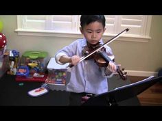 Final practice before recital—See more of young violinist #son_from_vivlum