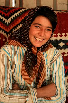 Nomad girl by Shapour. (Iran)