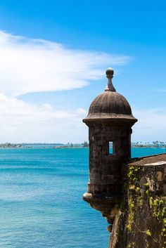 Step into a sentry box in Old San Juan, Puerto Rico.
