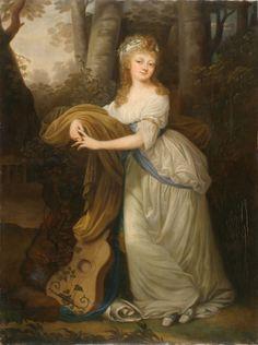 Grassi, Portrait of Krystyna Magdalena Radziwiłł (1776-1796), daughter of Michał Hieronim Radziwiłł