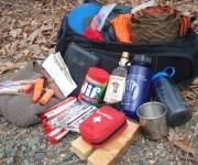 I'm glad to see others pointing out the importance of having a bug out bag in case you need to evacuate your residence due to an unforeseen emergency.