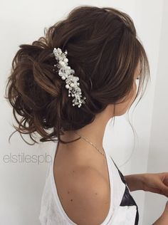 Elstile wedding hairstyles for long hair 65 - Deer Pearl Flowers / http://www.deerpearlflowers.com/wedding-hairstyle-inspiration/elstile-wedding-hairstyles-for-long-hair-65/