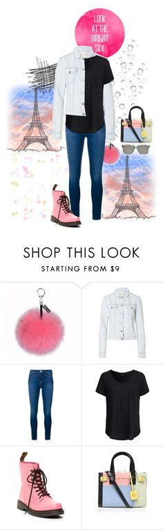 """""""Look at the Bright Side"""" by leigha-watlington ❤ liked on Polyvore featuring Helen Moore, rag & bone, Frame Denim, New Look, Dr. Martens, Kurt Geiger, Sheriff&Cherry, DrMartens, paris and sheriffandcherry"""