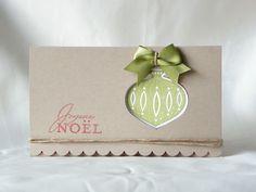 Un tuto en images pour réaliser une pochette cadeau afin d'y glisser un billet, un chèque cadeau...