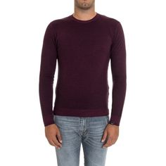 Paolo Pecora Men's Burgundy Wool Sweater (315 CAD) ❤ liked on Polyvore featuring men's fashion, men's clothing, men's sweaters, red, sweaters, mens sweaters, mens wool sweaters, mens red sweater, mens burgundy sweater and mens woolen sweaters