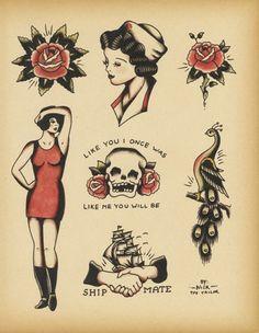 sailor's tattoo