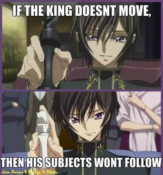 Code geass. He looks so sweet, but he is so deadly.