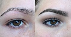 #beauty #eyebrows #beforeandafter #tint