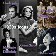 1930s icons