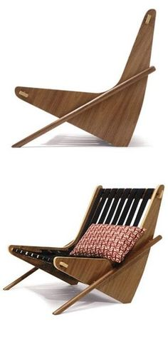 Richard Neutra Boomerang Chair