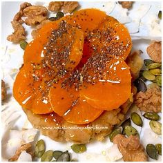 Beautiful gluten, dairy and sugar free pancake topped with the natural sugars in raw honey and mandarin. #Paleo #pancake #breakfast #glutenfree #healthy #healthspo #fitspo #healthyfoodshare #healthychoice #healthyfoodie #instafood #foodphotography #jerf #