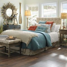 Bring the beach into your bedroom with our Coastal Cottage Collection. With beach accents and coastal furniture turn your own space into a peaceful oasis.