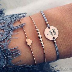 30 Style Boho Bangle Elephant Heart Shell Star Moon Bow Map Crystal Be – Benovafashion Bracelets Roses, Cute Bracelets, Link Bracelets, Bracelet Love, Tassel Bracelet, Beaded Bracelets, Bohemian Bracelets, Fashion Bracelets, Fashion Necklace