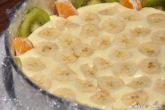 Tort Diplomat | Retete culinare cu Laura Sava - Cele mai bune retete pentru intreaga familie Food Cakes, Just Desserts, Macaroni And Cheese, Cake Recipes, Oatmeal, Cooking, Breakfast, Ethnic Recipes, Gifts