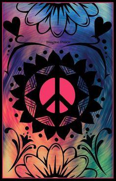 ☮✌~Paz~✌☮ ❤~ AMOR ~❤  ❤☮✌Peace☮∞L♡VE∞★ ☮ American Hippie Art ☮ Peace Sign