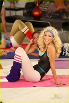 Halloween Costume Idea - 80s Workout Heidi Montag