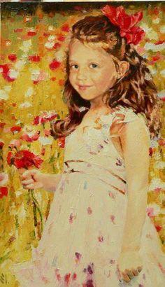 Alexei Slusar #art #painting #child