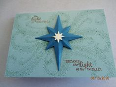 Star of Light Stampin Up Holiday Catalogue 2016