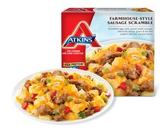 Atkins welcomes you to try our delicious Breakfast Burrito recipe for a low carb lifestyle. Atkins Diet Meal Plan, Diet Meal Plans, Breakfast Burritos, Breakfast Bowls, Frozen Meals, Mushroom Recipes, Low Carb Diet, Quick Meals, Low Carb Recipes