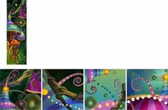 Serie de abstracción 1 Medios expresivos 2