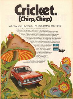 1971 Plymouth Cricket Advertisement Time Magazine February 8 1971 | by SenseiAlan