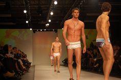 LG Fashion Week 2009 S/S collection. #swim #runway