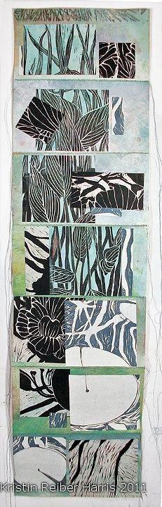 "Lino Carving /Linocut "" by Printmaker Kristin Reiber Harris , Lino, Linoleum, Print, Relief, Printmaking, Artist Study for CAPI Students @ http://www.milliande.com/capi-create-art-portfolio-ideas.html , lino, relief,print, ink, printmaking, art school, art portfolio"