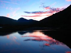 Tarradalen. Sunset in august
