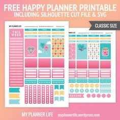 FREE PRINTABLE – DIAMOND LOVE by* My Planner Life