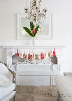 How To Decorate A Creative Valentines Day Mantel - 20 Ways