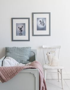 Chambre de petite fille toute en simplicité