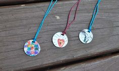 Shrinky Dink Pendants Tutorial ~ Mother's Day Quick Crafts, Crafts To Make, Crafts For Kids, Mothers Day Crafts, Happy Mothers Day, Summer Crafts, Summer Fun, Holiday Calendar, Shrinky Dinks