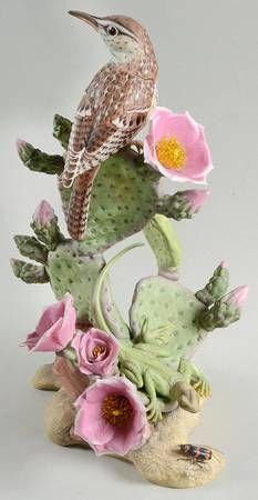 Boehm Boehm Birds Cactus Wren - No Box