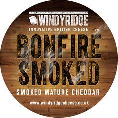 Bonfire™ Smoked Waxed Cheese by Windyridge Cheese Ltd