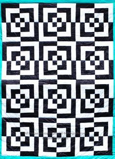 optical illusion quilt - Google Search; also a bento box quilt