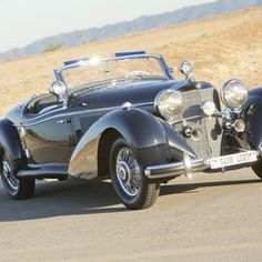 1939 Mercedes-Benz 540 K Special Roadster. Ordered by a successful Berlin designer and art retailer in a Mercedes-Benz 540 K Special Roadster carrying cha Bmw Classic Cars, Classic Car Show, Classic Mercedes, Classic Chevrolet, Car Man Cave, Classic Car Restoration, Expensive Cars, Collector Cars, Motor Car