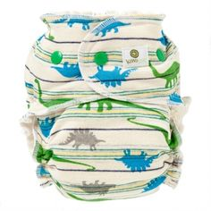 Kiwi Pie Bamboo Fitted Diaper