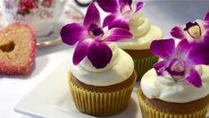 Cupcakes / Foodtip: eetbare bloemen