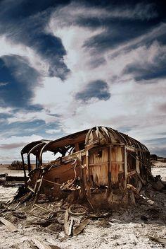 Salton Sea - Bombay Beach - broken solitude    shot by tofu minx