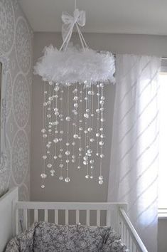 baby mobile Colorful and Playful DIY Baby Mobiles Ideas How Sound Insulations Work Sound insulations Baby Bedroom, Baby Room Decor, Nursery Room, Girl Nursery, Girl Room, Kids Bedroom, Nursery Decor, Project Nursery, Princess Nursery