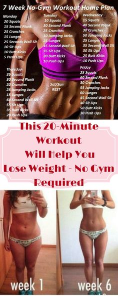 THIS 20-MINUTE WORKOUT WILL HELP YOU LOSE WEIGHT NO GYM REQUIRED