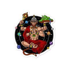 Hanuman Ji Wallpapers, Trippy Designs, Shiva Art, Shiva Tandav, Hanuman Images, Zen Yoga, Yoga Meditation, Alien Art, Stickers