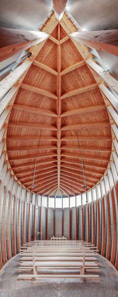 Saint Benedict Chapel / Peter Zumthor / Sumvitg, 1988
