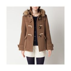 short brown coat for women - Google Search - except i would just wear it on my shoulders