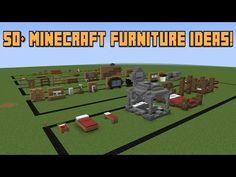 50+ Minecraft Furniture ideas! - YouTube