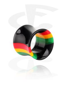 Double Flared Tube (Acrylic)   Crazy Factory online piercing shop Piercing Shop, Tunnels And Plugs, Stretched Ears, Ear Jewelry, Tube, Earrings