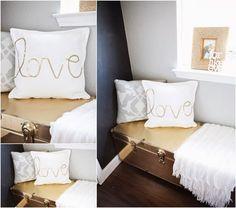 DIY Love Pillow