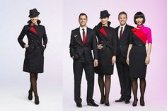 Qantas Airways Gets a New Look For their Cabin Crew