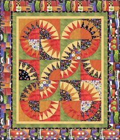 Sausalito - fabulous quilt with free downloadable pattern